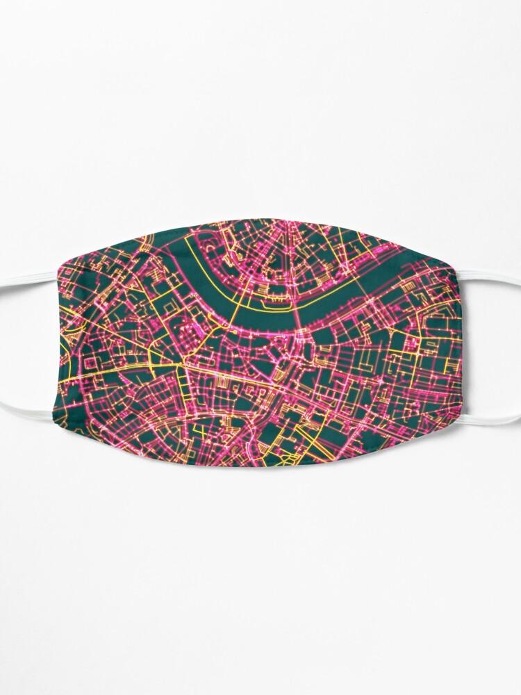 Alternate view of Neon Roads of Dresden Mask