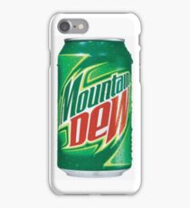 Mountain Dew Can iPhone Case/Skin