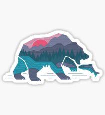 Pegatina Bear Country