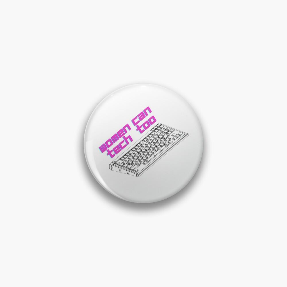 Steminist Women In Tech (STEM) Pin