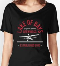 Lake of Bays Retro ft Crosswind Women's Relaxed Fit T-Shirt