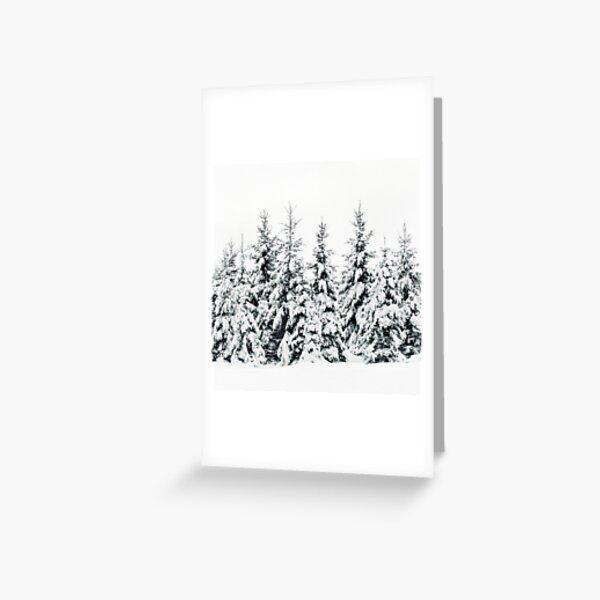 Snow Porn Greeting Card