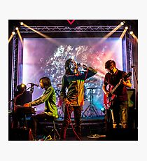The First Gig Photographic Print