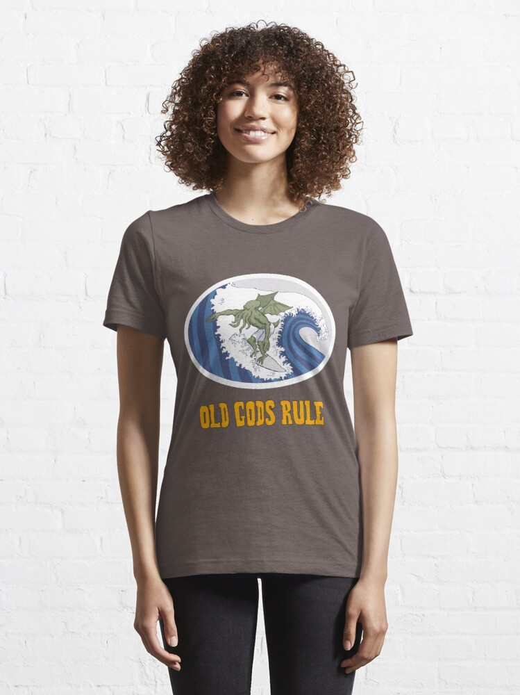 Alternate view of Old Gods Rule Essential T-Shirt