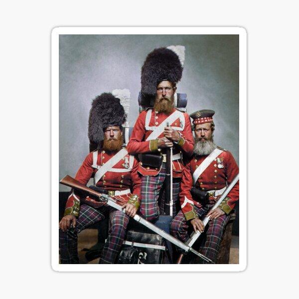 72 Highlanders, Crimean War, 1850s. Sticker