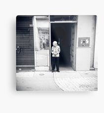 A sweet chinese life in the street Metal Print