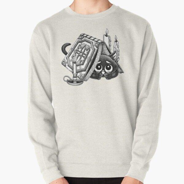 Puss In Books Pullover Sweatshirt