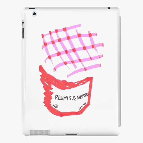 Plums and Berries Jam / Jelly / Preserve iPad Snap Case