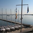 Lake Mendota - Memorial Union Terrace by Tony Herman