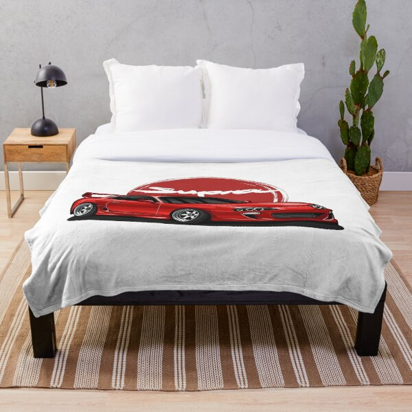 Supra MK-4 Red Candy Throw Blanket