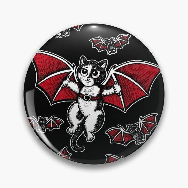 Bat Cat Pin
