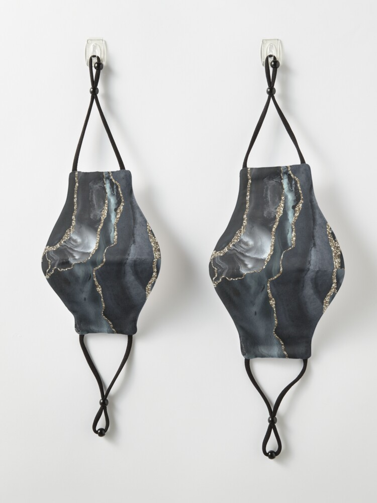 Alternate view of Night Masculine Marble Landscapes Mask
