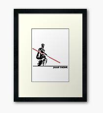 Star Wars: Julius Caesar - Black Ink Framed Print