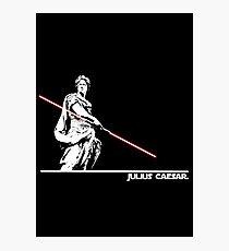 Star Wars: Julius Caesar - White Ink Photographic Print