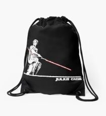 Star Wars: Julius Caesar - White Ink Drawstring Bag