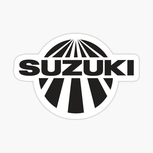 Suzuki world champion cross motorcycles vintage 70's  Sticker