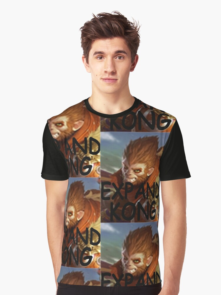 expand kong  Graphic T-Shirt Front