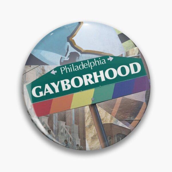 Philadelphia Gayborhood Pin