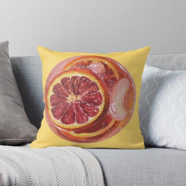 orange sanguine cocktail Coussin