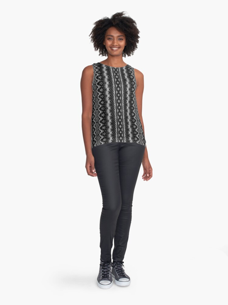 Alternate view of LaFara Crochet 1 Sleeveless Top