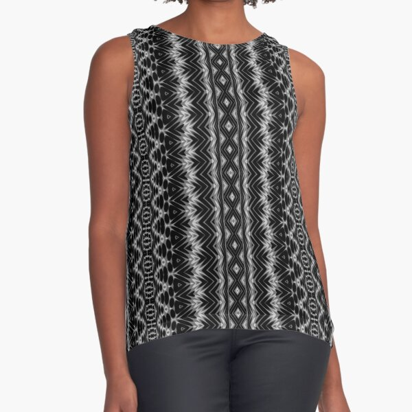 LaFara Crochet 1 Sleeveless Top