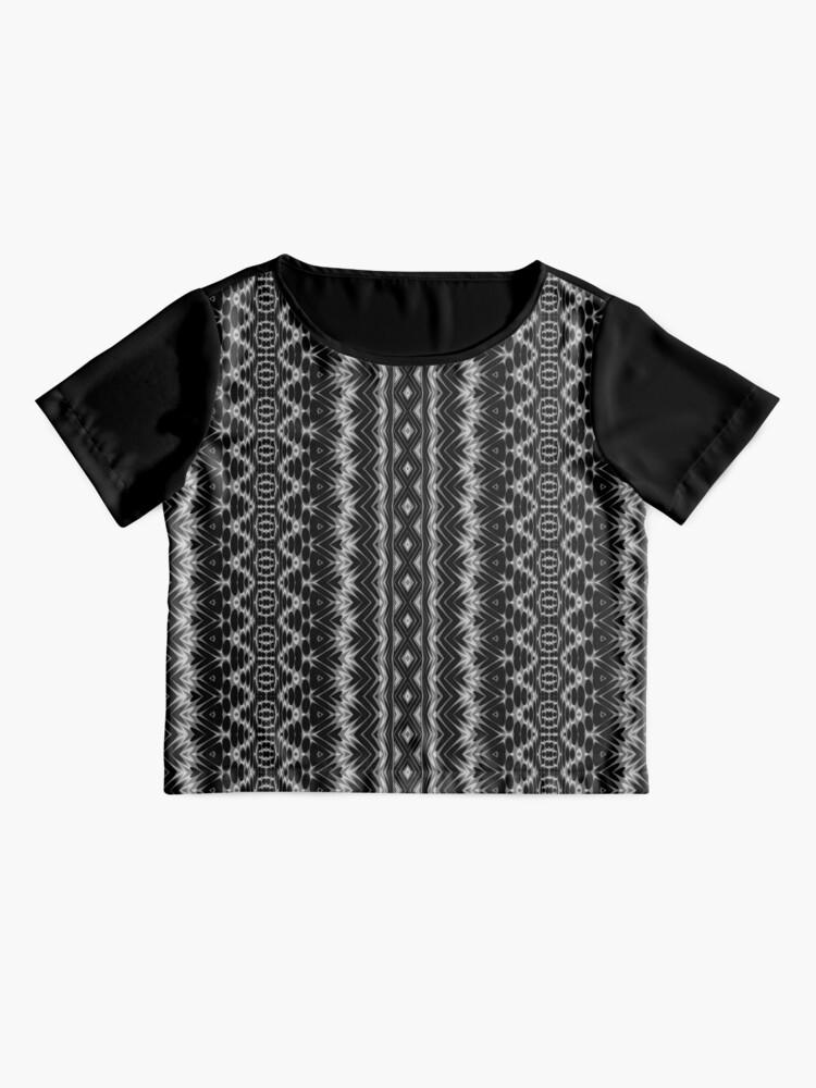 Alternate view of LaFara Crochet 1 Chiffon Top