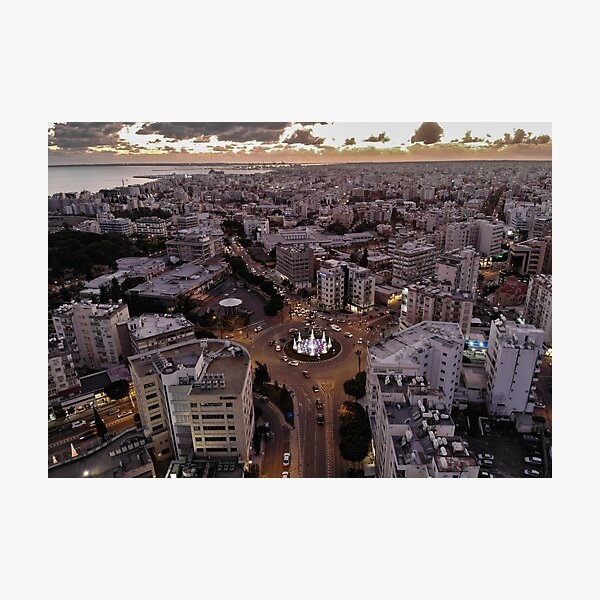 Limassol City Photographic Print