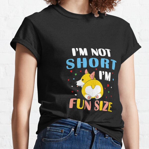 1Tee Womens Loose Fit I/'m Not Fat I/'m Funsize Unicorn T-Shirt