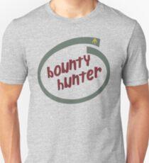 Boba Fett - Bounty Hunter Intel logo Unisex T-Shirt