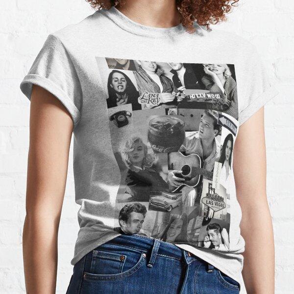Viejo hollywood Camiseta clásica