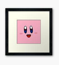 KIRBY! Framed Print