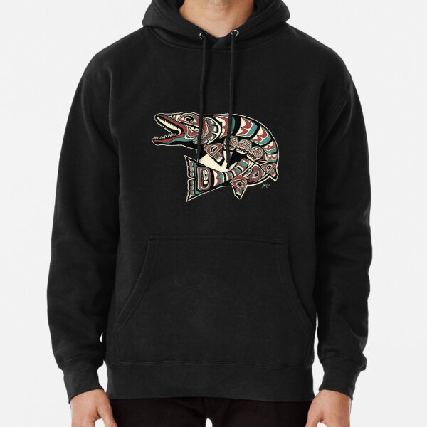 Alaskan Muskie Traditional Pullover Hoodie