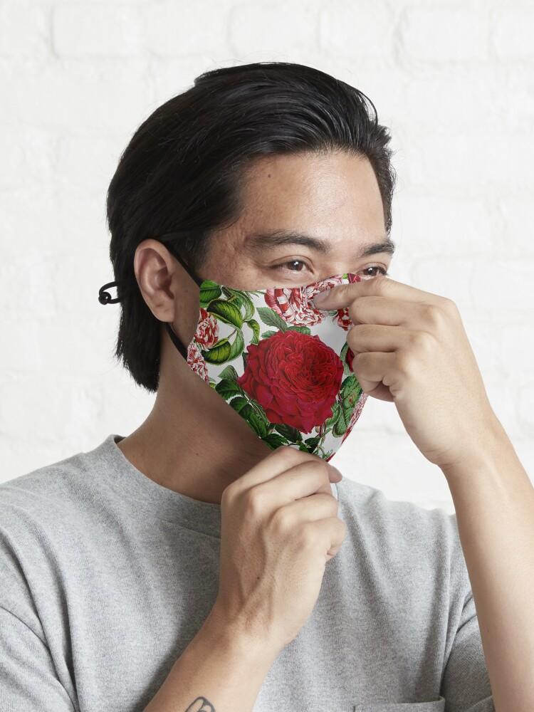 Alternate view of Summer Roses Mask