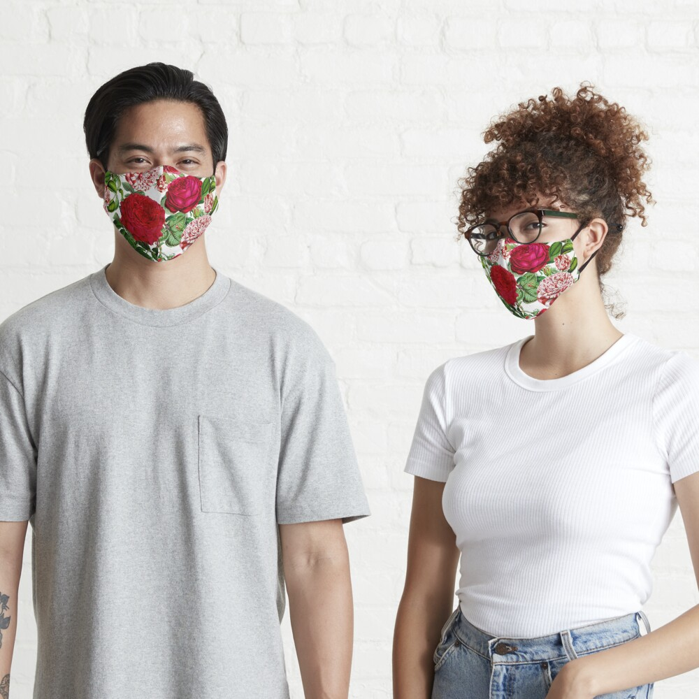 Summer Roses Mask