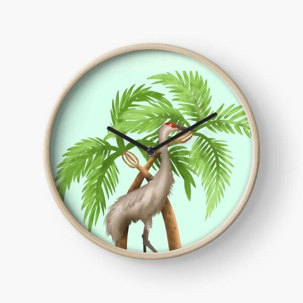 Florida Inspired Crane Clock