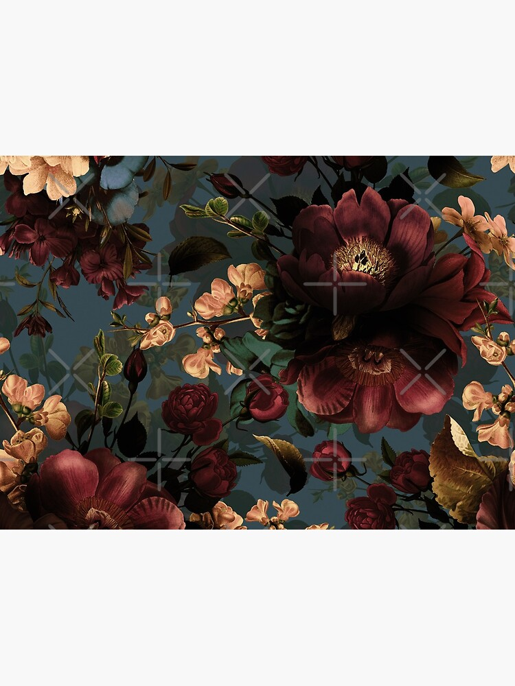 Moody florals - Mystic Night 10 by UtArt