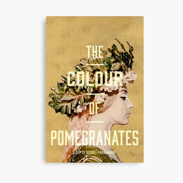 The Color of Pomegranates Canvas Print