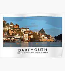 Dartmouth (Railway Poster) Poster