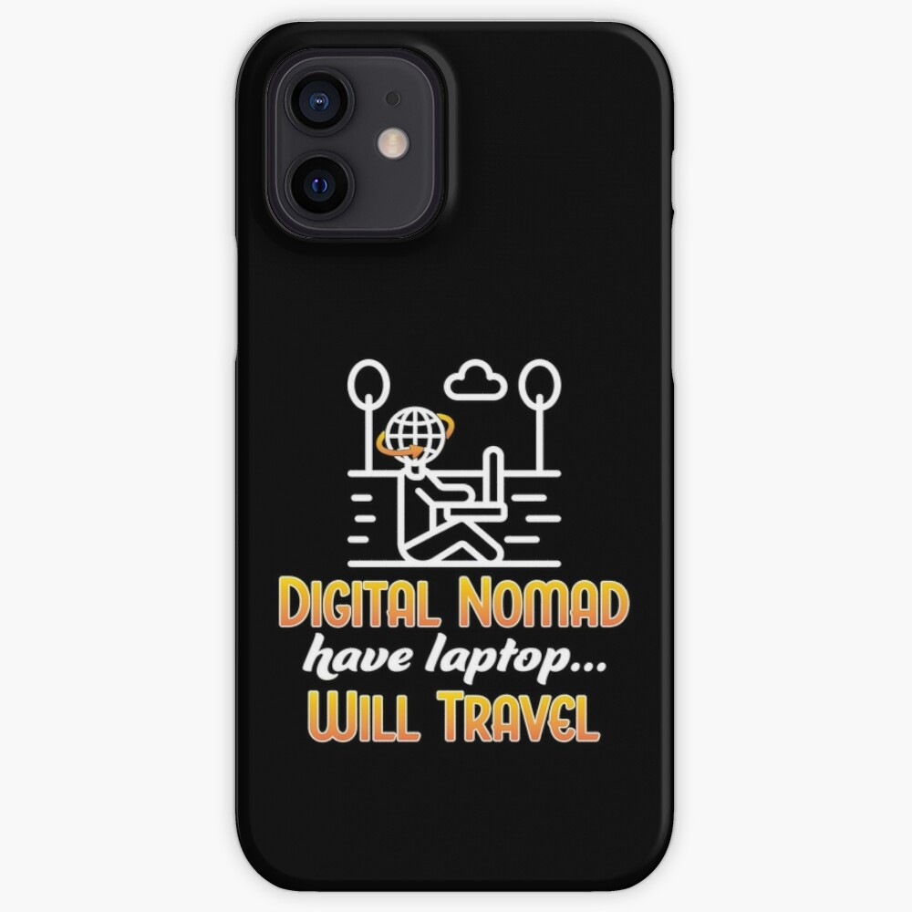 Digital Nomad. iPhone Case & Cover