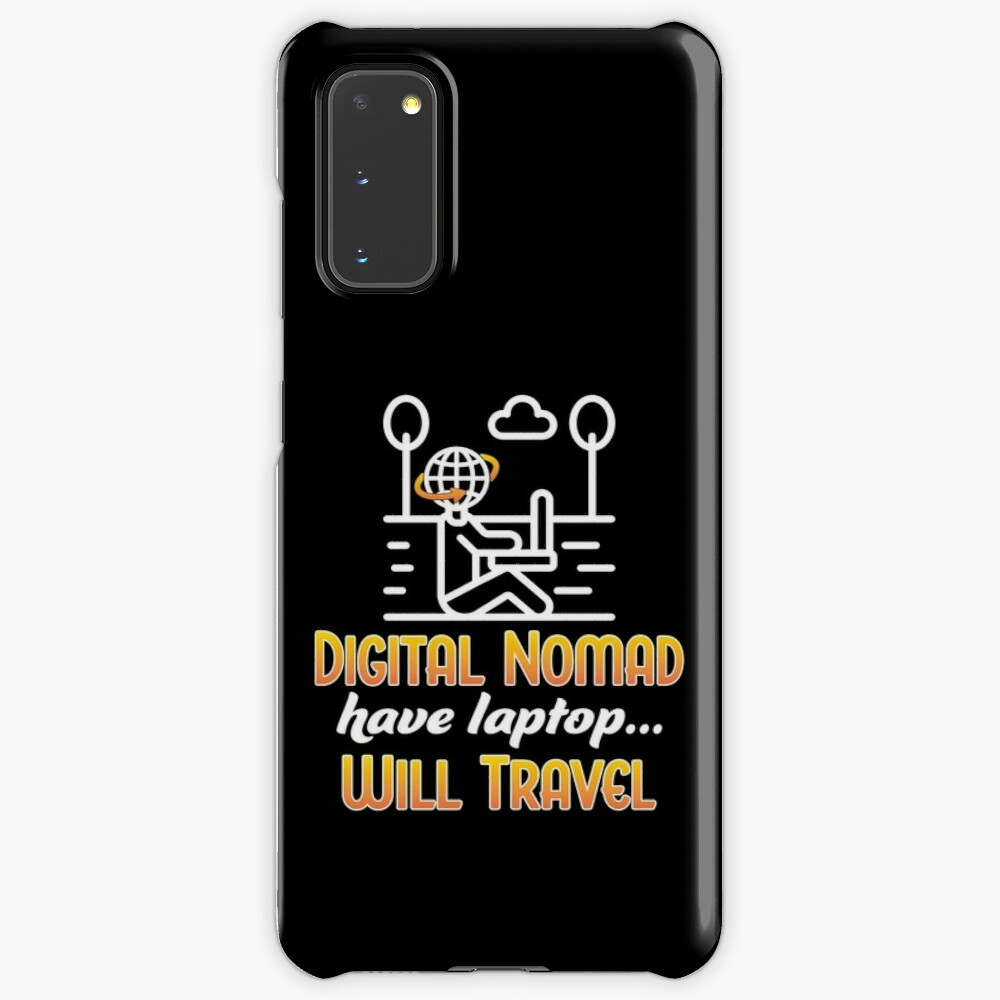 Digital Nomad. Case & Skin for Samsung Galaxy
