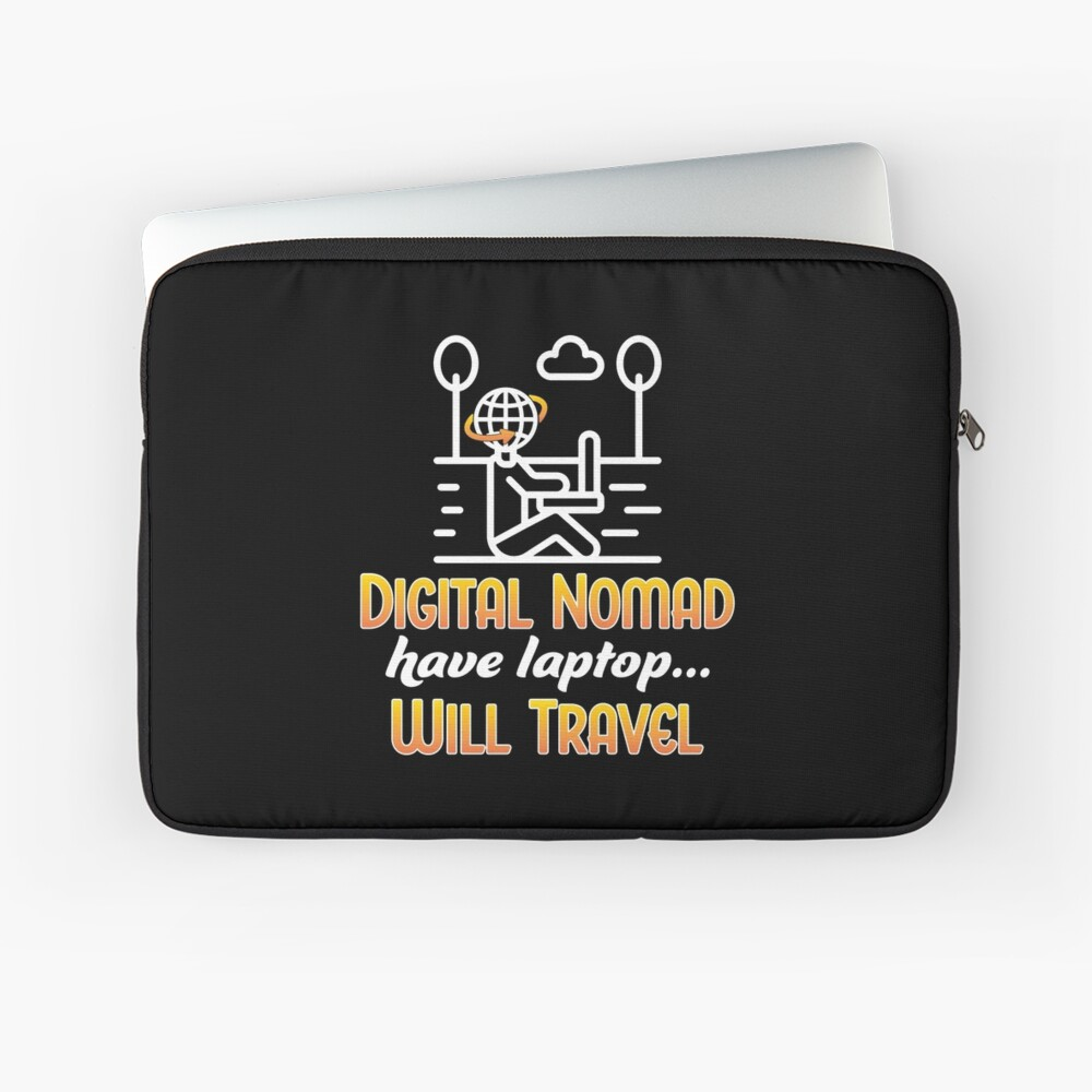 Digital Nomad. Laptop Sleeve