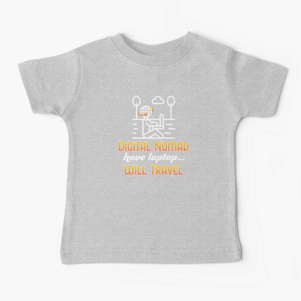 Digital Nomad. Baby T-Shirt
