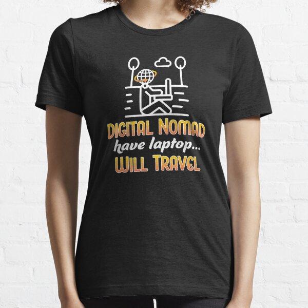 Digital Nomad. Essential T-Shirt