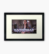 Hackerman Poster Framed Print