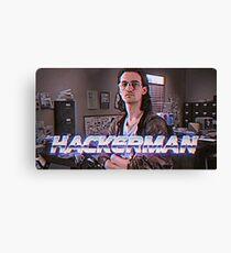 Hackerman Poster Canvas Print