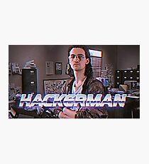 Hackerman Poster Photographic Print