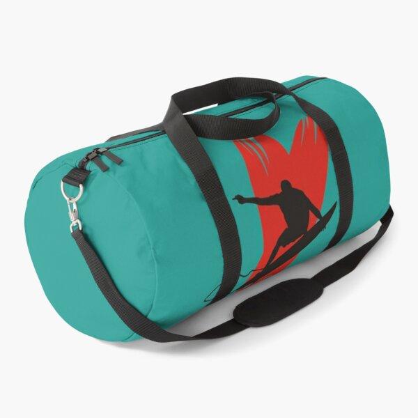 Surfer Graphic Duffle Bag