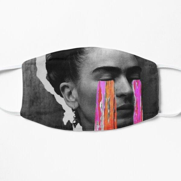 Black And White Frida Kahlo Flat Mask