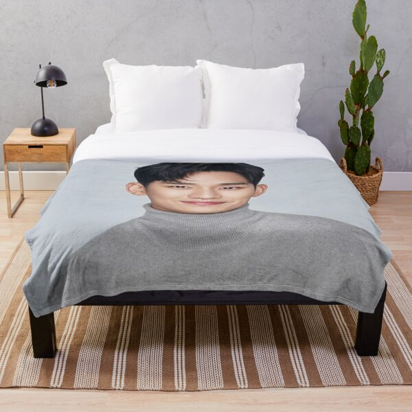 Kim soo hyun  Throw Blanket