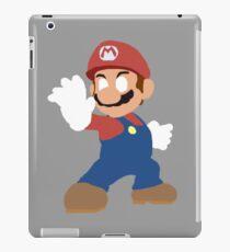 Simplistic Mario  iPad Case/Skin